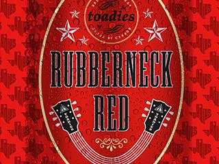 Toadies Beer Label