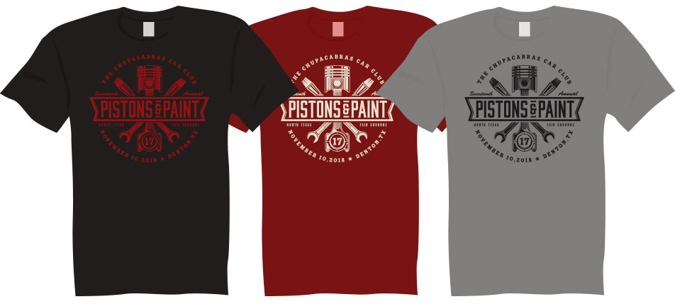 Pistons & Paint shirts